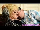 Cockriding gilf gets blasted with cum