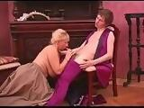 retro dress for busty russian mature with young guy part 3