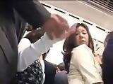 assaulted on train