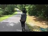 Public Hiking Trail Blowjob And Masturbation BlackxRose92