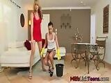 Charming Lesbian Momma With Her StepDaughter