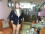 pantyhose black and golden coat