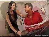 Hot cougar Eva Karera fucks a lucky guy