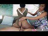 Sultry Ebony Stepma Needs Some Fresh Meat